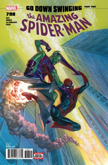 Amazing Spider-Man Cover - 6/1/2018