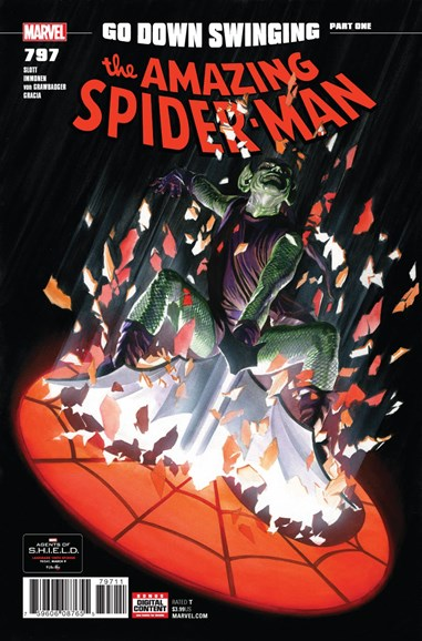 Amazing Spider-Man Cover - 5/1/2018
