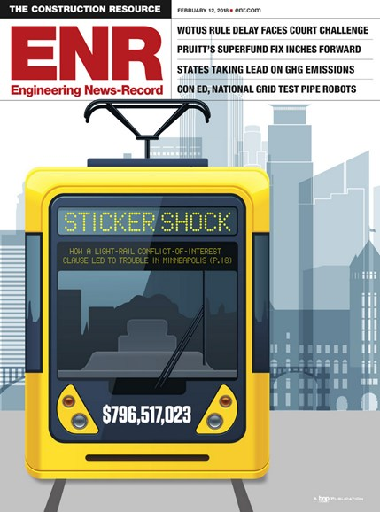 Engineering News Record Cover - 2/12/2018
