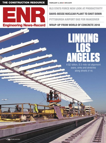 Engineering News Record Cover - 2/5/2018