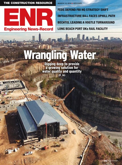 Engineering News Record Cover - 3/12/2018