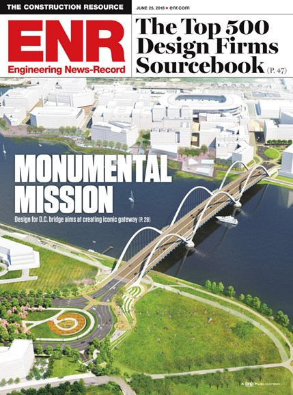 Engineering News Record Cover - 6/25/2018