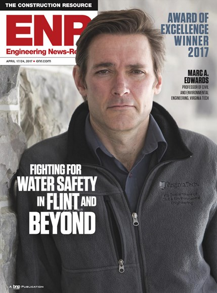 Engineering News Record Cover - 4/17/2017