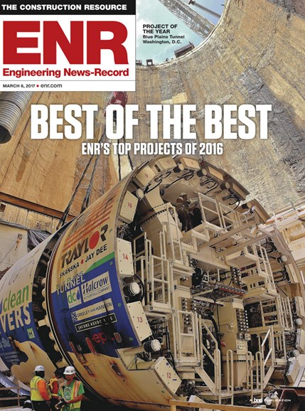 Engineering News Record Cover - 3/6/2017