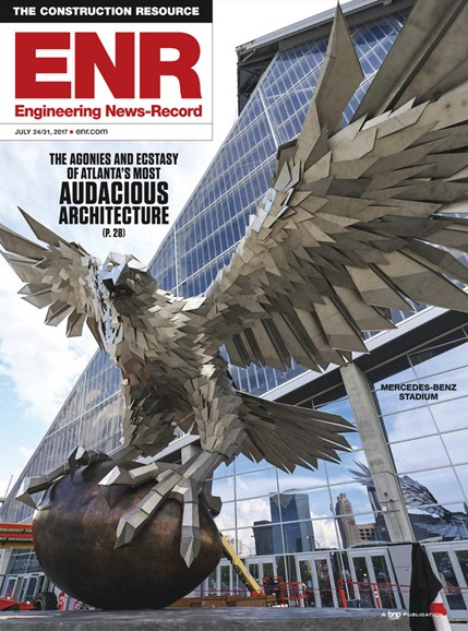 Engineering News Record Cover - 7/24/2017