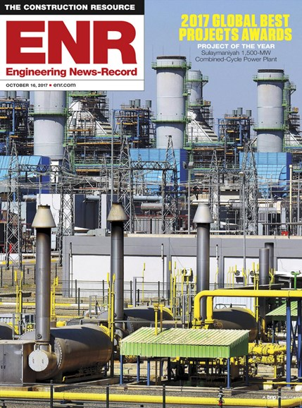 Engineering News Record Cover - 10/16/2017