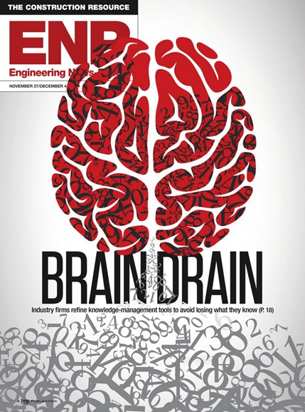 Engineering News Record Cover - 9/27/2017