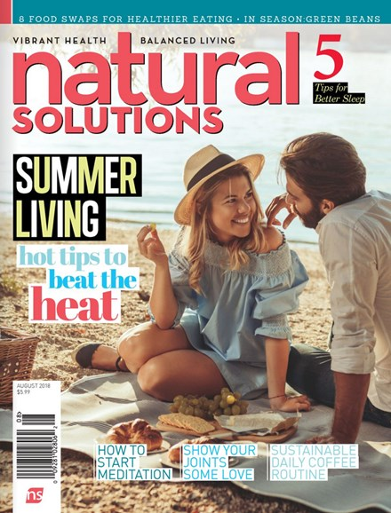Natural Solutions Cover - 8/1/2018