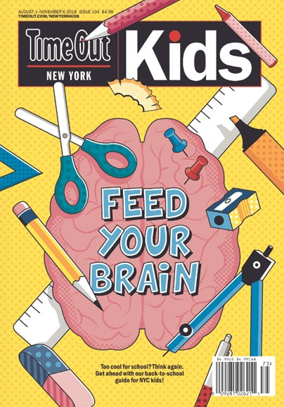 Time Out New York Kids Cover - 8/1/2018