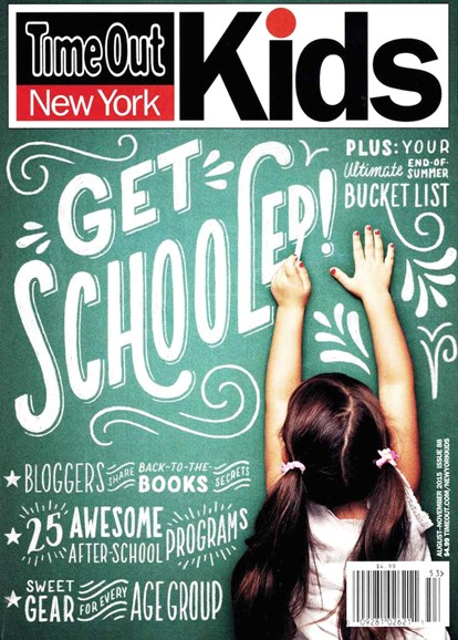 Time Out New York Kids Cover - 8/1/2015