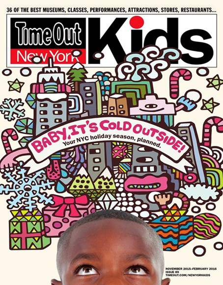 Time Out New York Kids Cover - 11/1/2015
