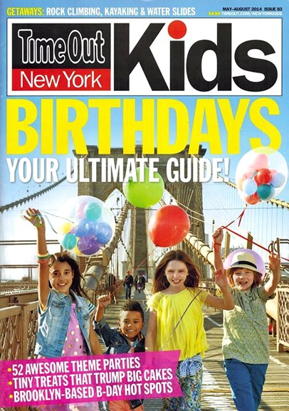 Time Out New York Kids Cover - 5/1/2014
