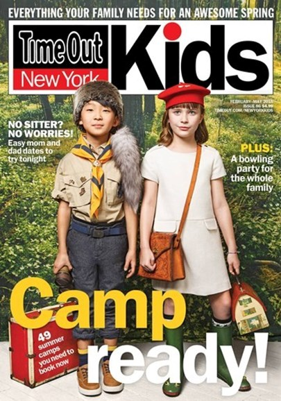 Time Out New York Kids Cover - 2/1/2015