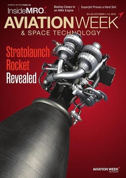 Aviation Week & Space Technology Cover - 10/1/2018