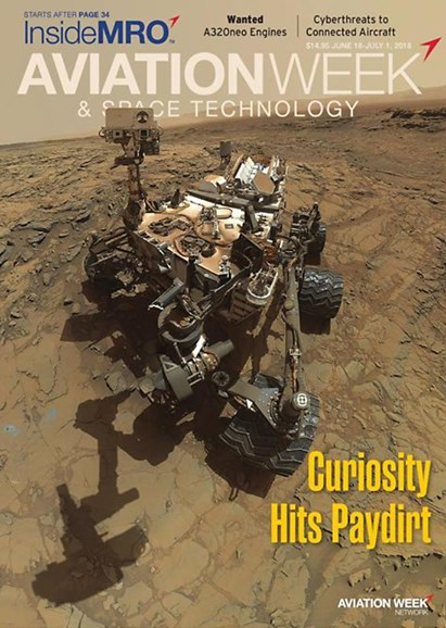 Aviation Week & Space Technology Cover - 6/18/2018