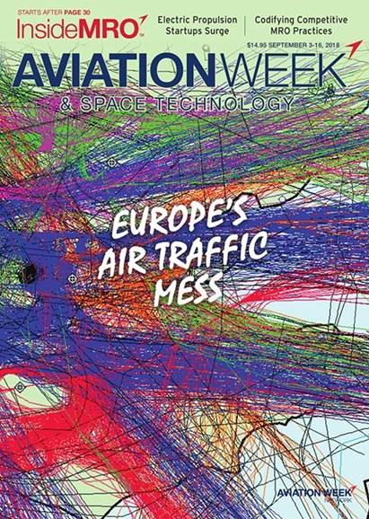Aviation Week & Space Technology Cover - 9/3/2018