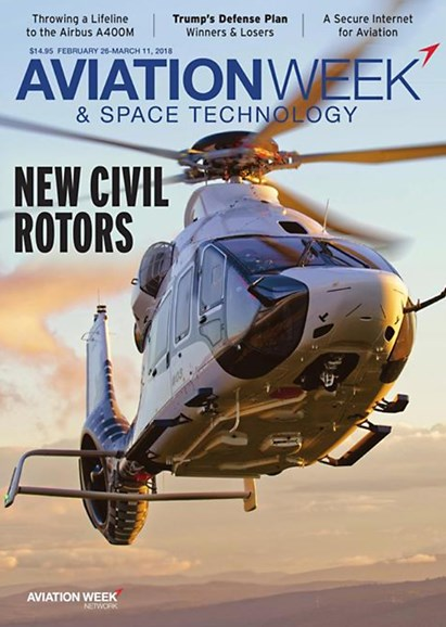 Aviation Week & Space Technology Cover - 2/26/2018