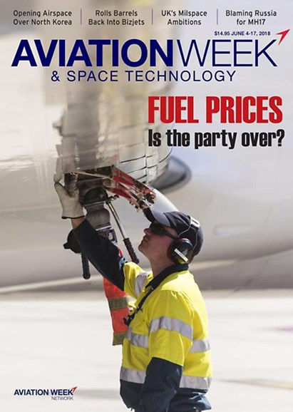 Aviation Week & Space Technology Cover - 6/4/2018