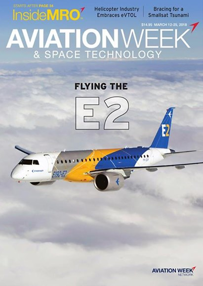 Aviation Week & Space Technology Cover - 3/12/2018