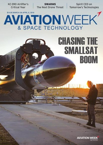Aviation Week & Space Technology Cover - 3/26/2018