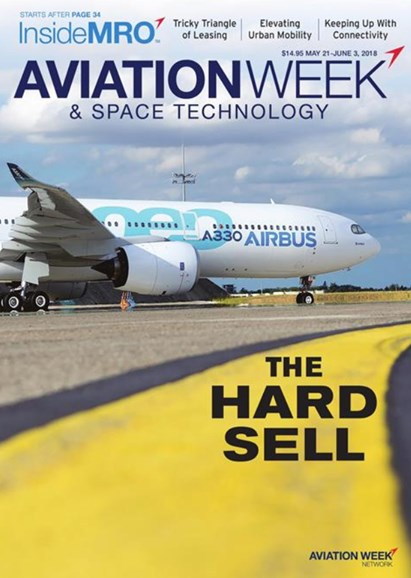 Aviation Week & Space Technology Cover - 5/21/2018