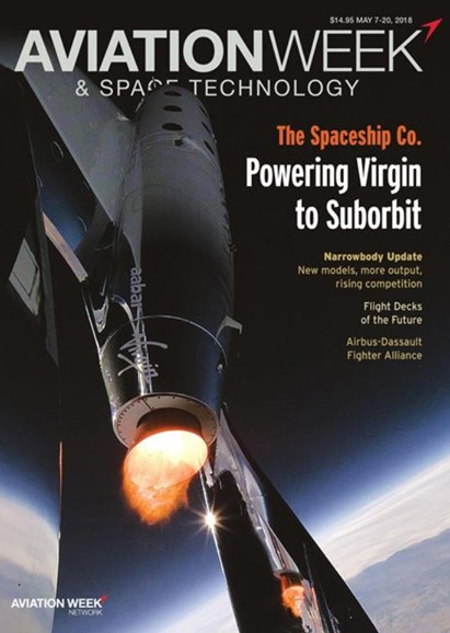 Aviation Week & Space Technology Cover - 5/7/2018