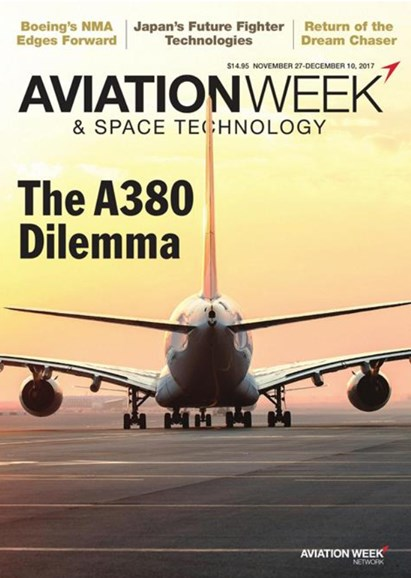 Aviation Week & Space Technology Cover - 11/27/2017