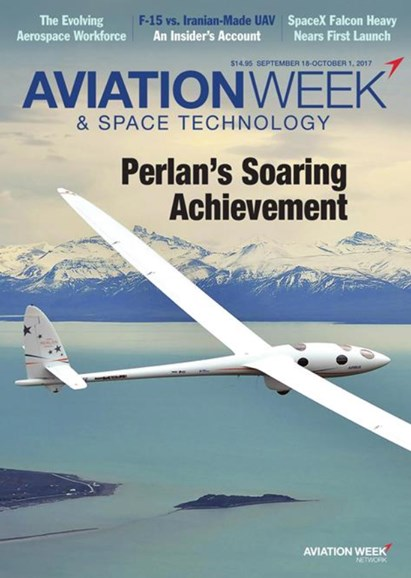 Aviation Week & Space Technology Cover - 9/18/2017