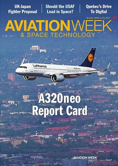 Aviation Week & Space Technology Cover - 4/3/2017
