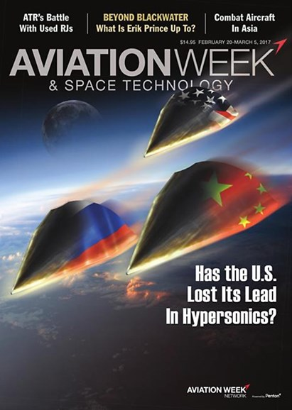Aviation Week & Space Technology Cover - 2/20/2017
