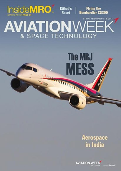 Aviation Week & Space Technology Cover - 2/6/2017