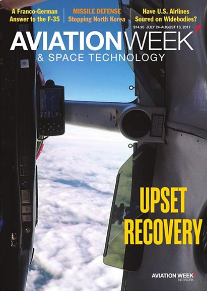 Aviation Week & Space Technology Cover - 7/24/2017