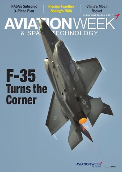 Aviation Week & Space Technology Cover - 6/26/2017