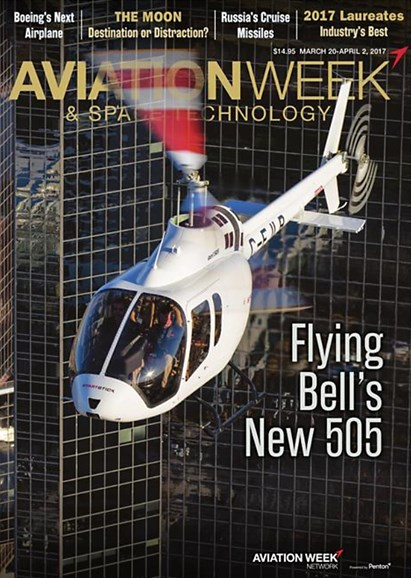Aviation Week & Space Technology Cover - 3/20/2017