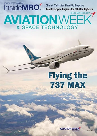 Aviation Week & Space Technology Cover - 5/15/2017