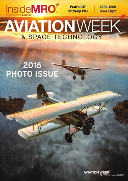 Aviation Week & Space Technology Cover - 12/5/2016