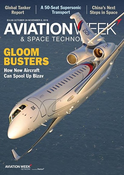 Aviation Week & Space Technology Cover - 10/24/2016