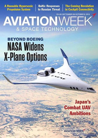 Aviation Week & Space Technology Cover - 9/26/2016