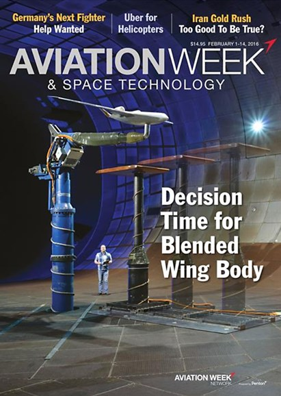 Aviation Week & Space Technology Cover - 2/1/2016
