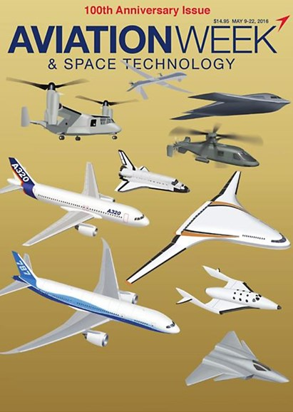 Aviation Week & Space Technology Cover - 5/9/2016