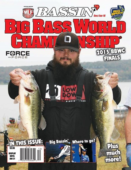 Bassin' Cover - 12/1/2016
