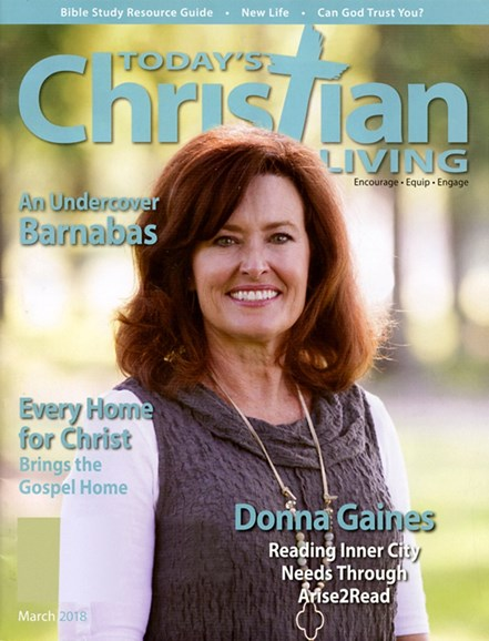 Today's Christian Living Cover - 3/1/2018