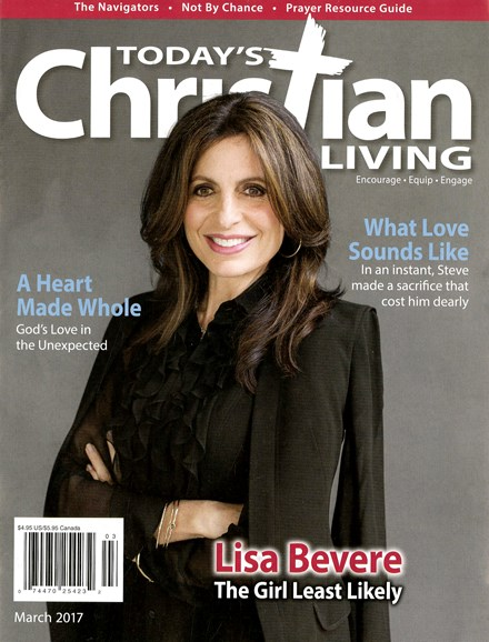 Today's Christian Living Cover - 3/1/2017