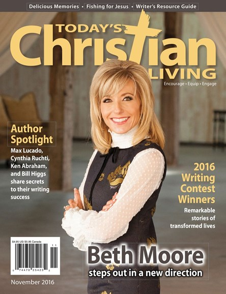 Today's Christian Living Cover - 11/1/2016