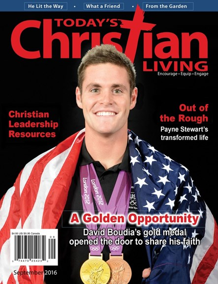 Today's Christian Living Cover - 9/1/2016