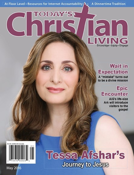 Today's Christian Living Cover - 5/1/2016