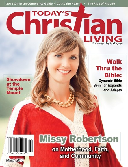 Today's Christian Living Cover - 3/1/2016