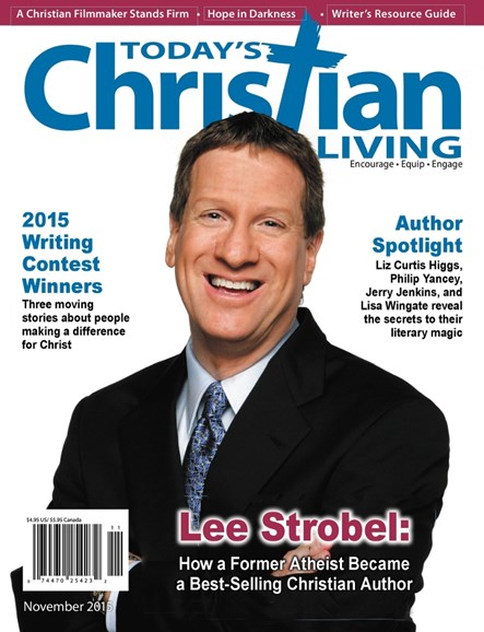Today's Christian Living Cover - 11/1/2015