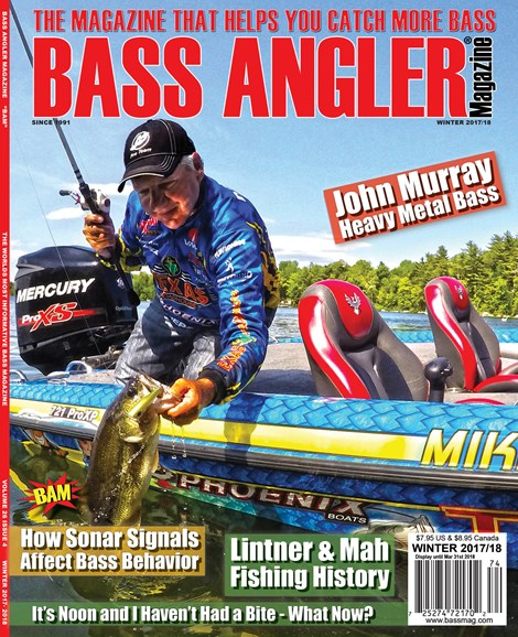 Bass Angler Cover - 12/1/2017