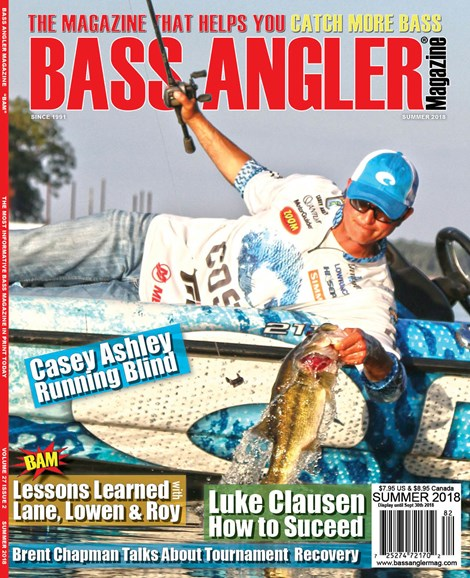 Bass Angler Cover - 6/1/2018